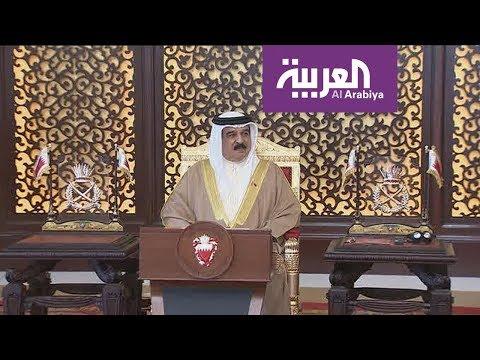 نشرة الرابعة I  العاهل البحريني يصادق على قانون حماية المجتمع من الأعمال الإرهابية  - نشر قبل 2 ساعة