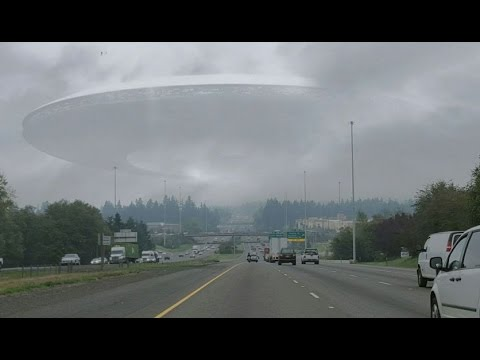 REAL UFO CAUGHT ON TAPE! UFO 2017 - YouTube