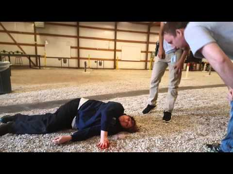 2016 Field Operations Day - Self Inflicted Gun Shot Wound- Criminal Justice team arrival