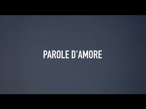 Parole d'amore - Words of love