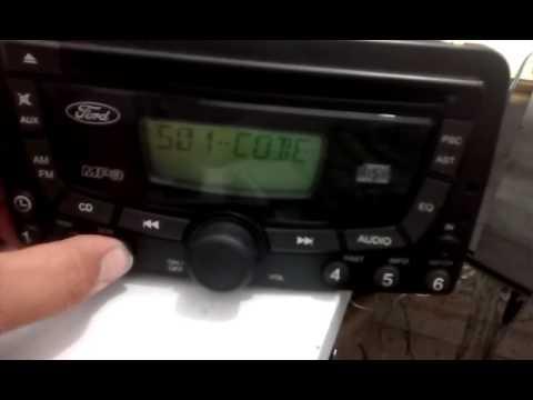 Radio Ford Focus estava em lock 10