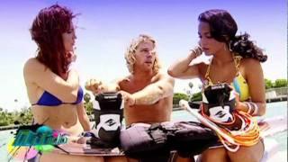 ¡Nítido! | Los Pecaditos en Accion: Wakeboarding | Telemundo