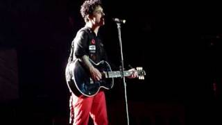 Green Day - 80/Before The Lobotomy/Wake Me Up When September Ends Live