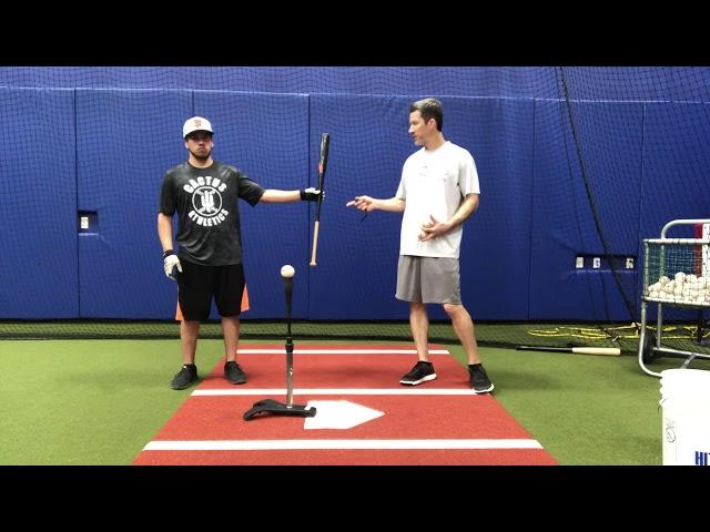 Batting Tee- Fungo Bat Drill