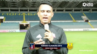 Torneo Clausura 2018   Monagas SC vs. Trujillanos FC   Jornada 8