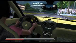 TDU2 Ferrari 599 vs Bugatti (BGM:EVANGELION Battle scene)