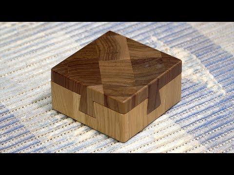The Impossible Dove Tail End Grain Box