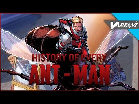History Of Every Ant-Man!