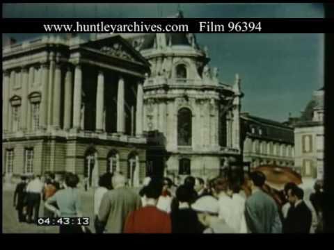 Coach Trip To Versailles, 1950s - FIlm 96394