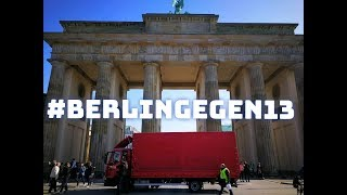 Artikel 13 Demo in Berlin ; Demozug - LIVE thumbnail