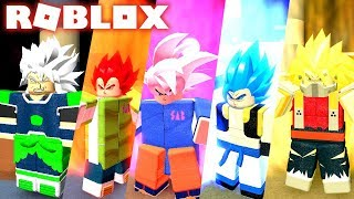 Left! UPDATE DRAGON BALL SUPER-BROLY MUI FILM AND CUSTOMISATION SAIYAJIN NO ROBLOX!