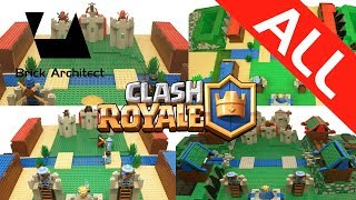 Lego Clash Royale Ultimate Compilation - All Lego Clash Royale Movies - Lego Clash of Clans