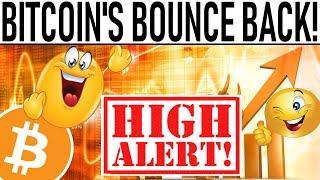 HIGH ALERT: BITCOIN BOUNCE BACK!  WHALES FLASH CRASH BITCOIN!  HALVING EFFECT ON ALTCOINS!  ALERT!