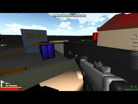 Зомби блок 3D первое видео
