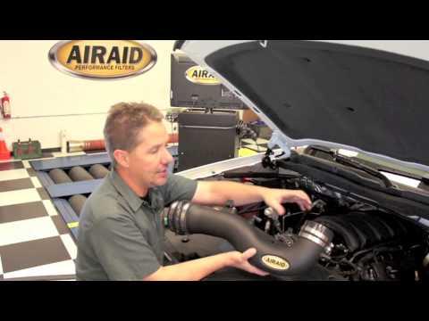 AIRAID Intake for the 2014 - 2015 Chevrolet / GMC 1500 5.3L Trucks / SUVs w/ Install Highlights