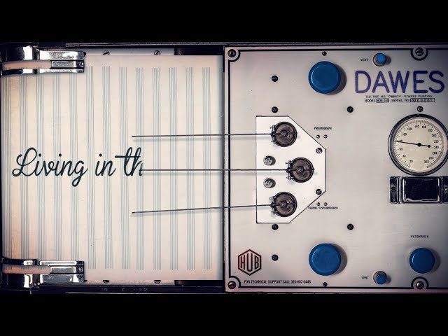 Dawes - Living In The Future (Lyric Video)