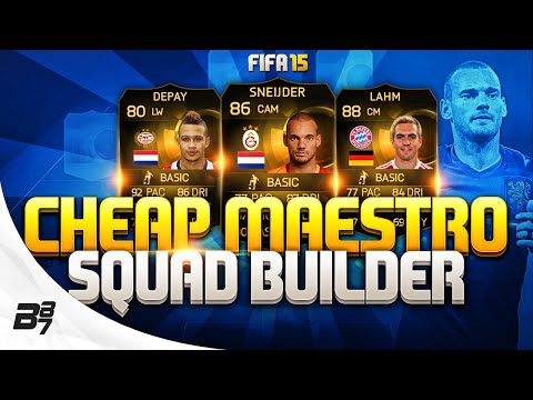 FIFA 15 | CHEAP IF MAESTRO SQUAD BUILDER!
