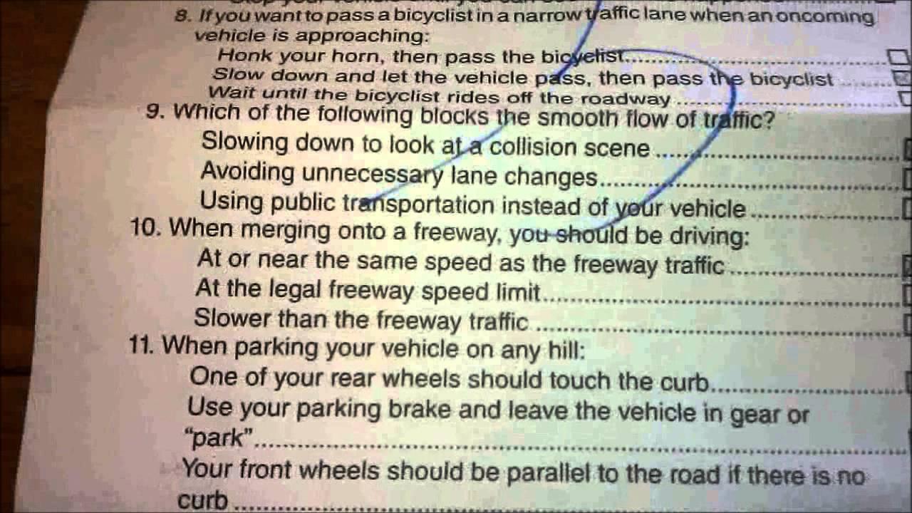 dmv driving report