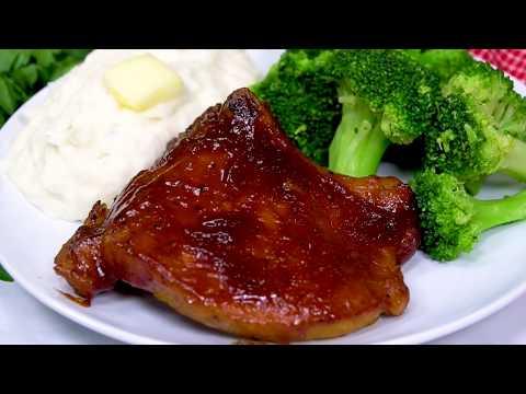 Instant Pot BBQ Pork Chops (Pressure Cooker Recipe)