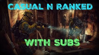 Rainbow Six Siege Ranked N Casuals With Subs (Ps4) (Sub Goal 2000)