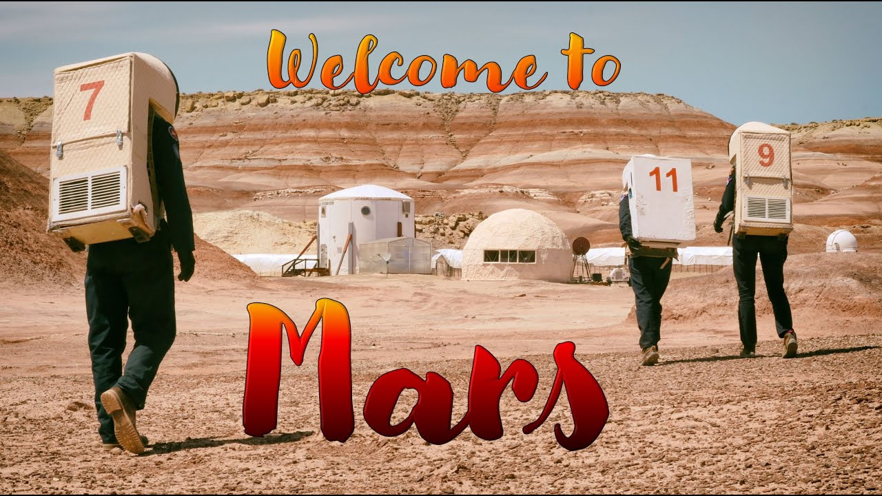 OFFICIAL TOUR OF THE MARS DESERT RESEARCH STATION (MDRS)   ASTRONAUT ANALOG MISSION