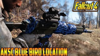 Fallout 4 AK5C Blue Bird Location Xbox One Mod