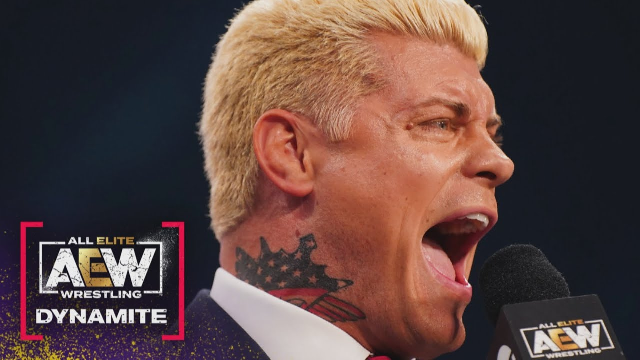 Download Cody Rhodes Gives Anthony Ogogo a History Lesson. What did he Say?   AEW Dynamite, 5/12/21