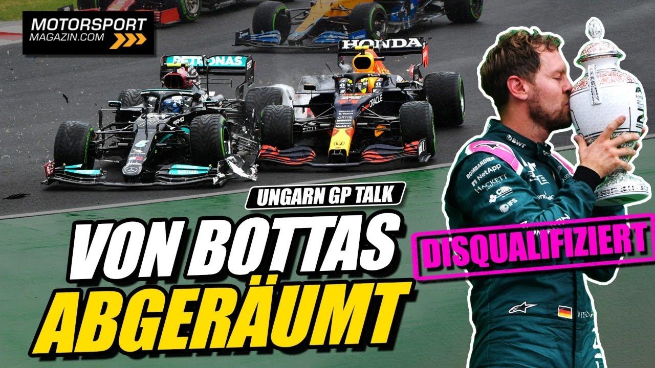 Disqualifiziert: Vettel verliert P2! | Formel 1 Chaos in Ungarn