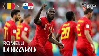Romelu LUKAKU Goal 1 - Belgium v Panama - MATCH 13