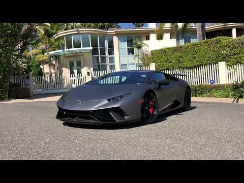 Vehicle details - 2018 Lamborghini Huracan Performante at O'Gara