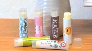 Personalized Lip Balm