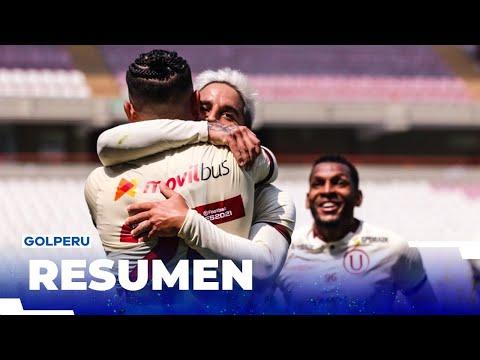 Universitario de Deportes Alianza Huanuco Goals And Highlights