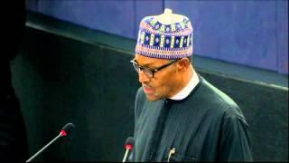 #Nigeria: Address by Nigerian President Muhammadu Buhari to European Parliament
