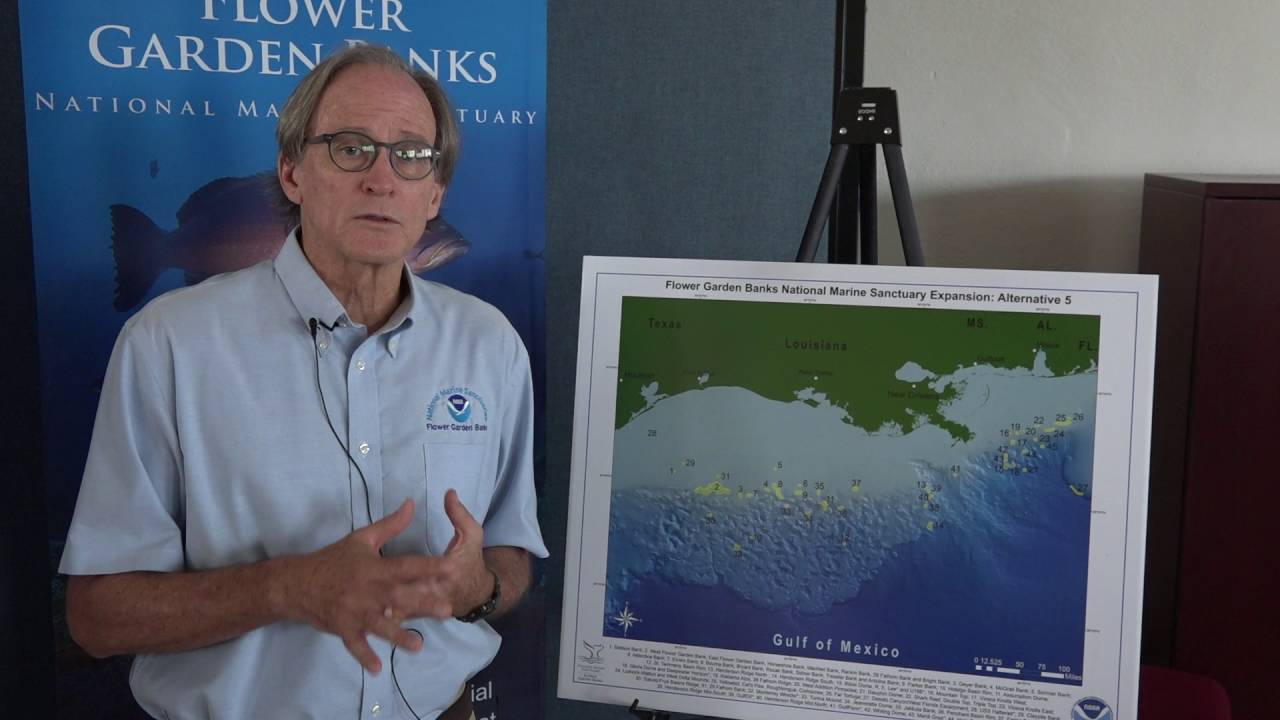 Proposal to expand marine sanctuary discussed in Galveston