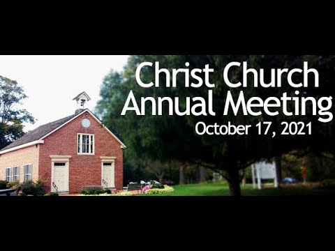 Father Manny's Annual Meeting Message