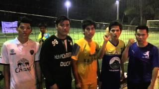 Key message for NGO Kratie FC Futsal Team Up 2016