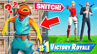 HIDE or SNITCH to WIN (Fortnite)