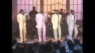 K-Ci and Jojo Performing With The Temptations