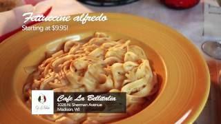 Cafe La Bellitalia | Fettuccine Alredo, Mostacchioli