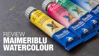 Review: MaimeriBlu Watercolor (Introductory Set of 6 tubes)