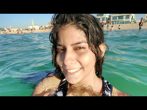 EXPLORING DUBAI   Vlog   Part 6   KITE BEACH AND JUMEIRAH BEACH 2020 #MeloDrama