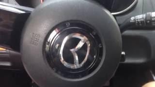 Mazda CX-7 2007,Мазда СХ-7. после замены  шаровой,колодок,передних стабилизаторов и проточку дисков.