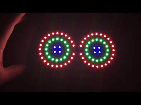 The Last Patterns of our LED Goggles