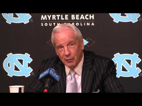 ICTV: Roy Williams Press Conference Post-Notre Dame