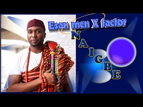 Esan men of Nigeria and God