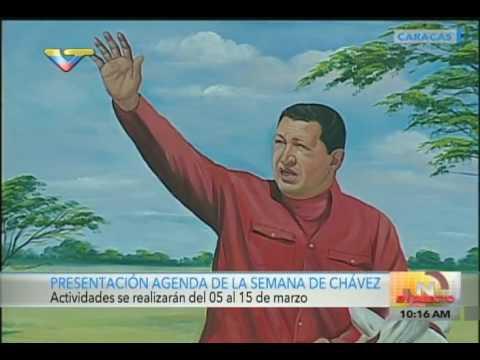 Ministro de Cultura anuncia actividades durante la Semana de Chávez