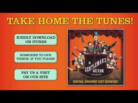 GENTLEMAN'S GUIDE Cast Album - That Horrible Woman