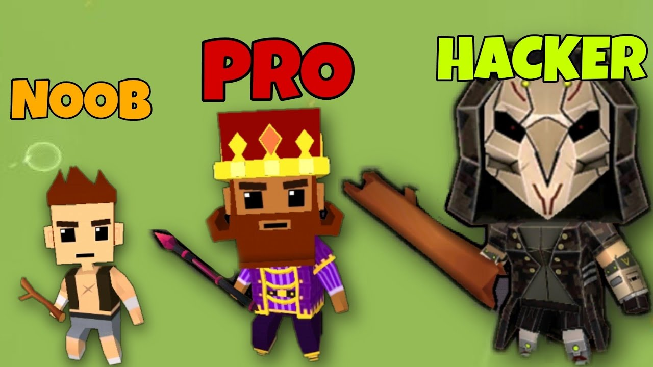 Download NOOB vs PRO vs HACKER - Magica.io