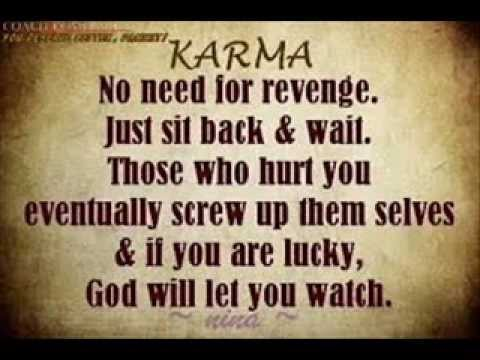 The Law Of Karma Spiritual Quotes Of Karma Science Youtube