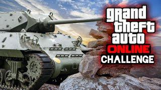 Den BERG besteigen - mit PANZERN! 🎮 GTA Challenge